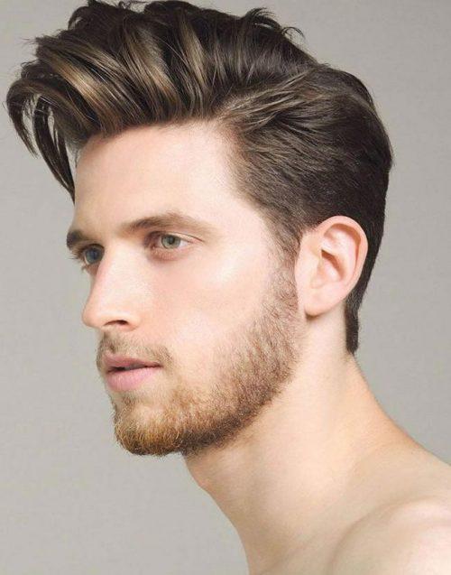 15 Männerfrisuren für runde Gesichter