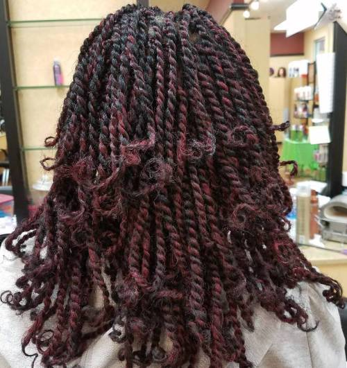 30 Hot Kinky Twists Frisuren zum Ausprobieren 2018