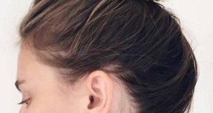 Schicke Frisuren für glattes Haar für Beste Frisur