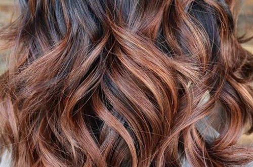 Schokoladenbraune Haarfarben für Beste Frisur