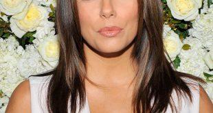 Geschichtete Frisuren: Eva Longorias glänzende Locken