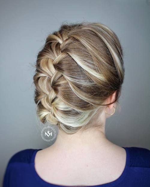 20 schnelle und einfache Arbeit passende Frisuren