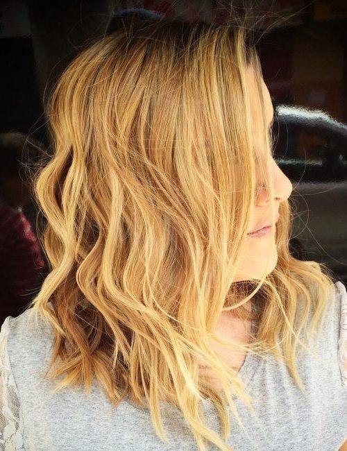 Stilvolle kurze gewellte Frisuren für Beste Frisur