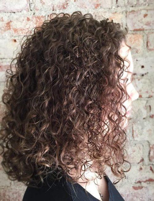 Spiral Perm Frisur Ideen für Beste Frisur