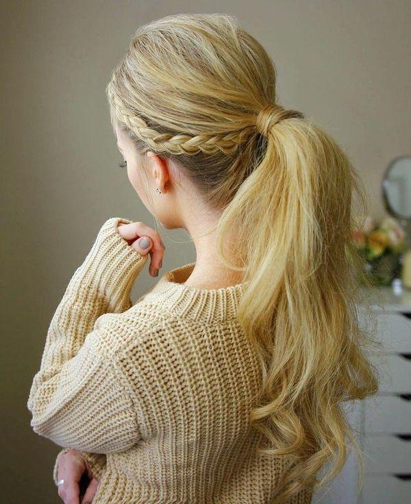 15 Arten von Pferdeschwanz Frisuren - beste Art für Frauen zu tragen