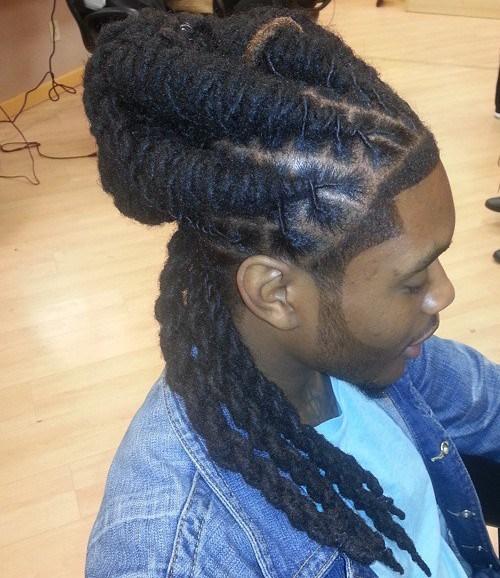 20 tolle lange Frisuren für Schwarze Männer