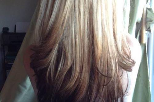 Reverse Ombre Hair mit perfekten Fades in Browns und Blacks