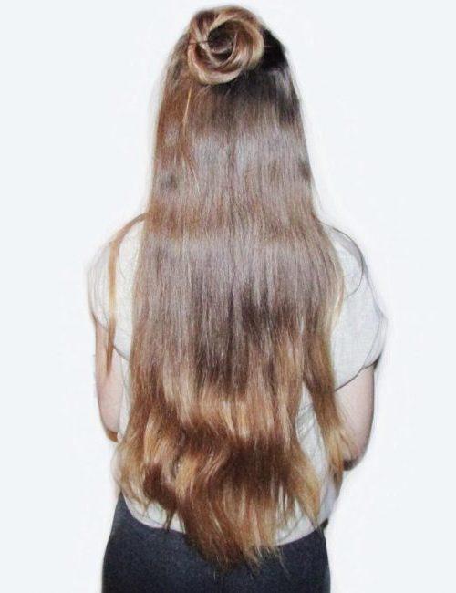 Lässige halbe Half Down Frisuren für Beste Frisur