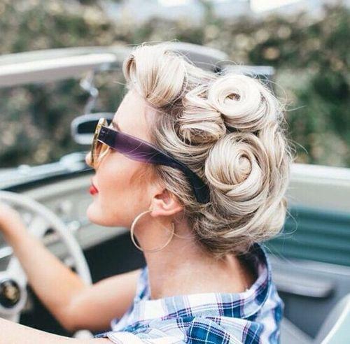 30 ikonische Retro und Vintage Frisuren
