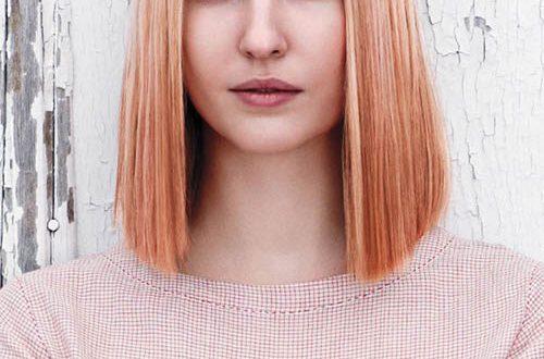 Rosa Haar Highlights für Beste Frisur