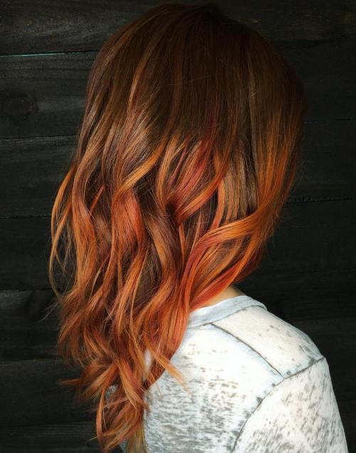 40 frische trendige Ideen für Kupfer Haarfarbe