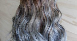 40 Fairy-Like Blau Ombre Frisuren