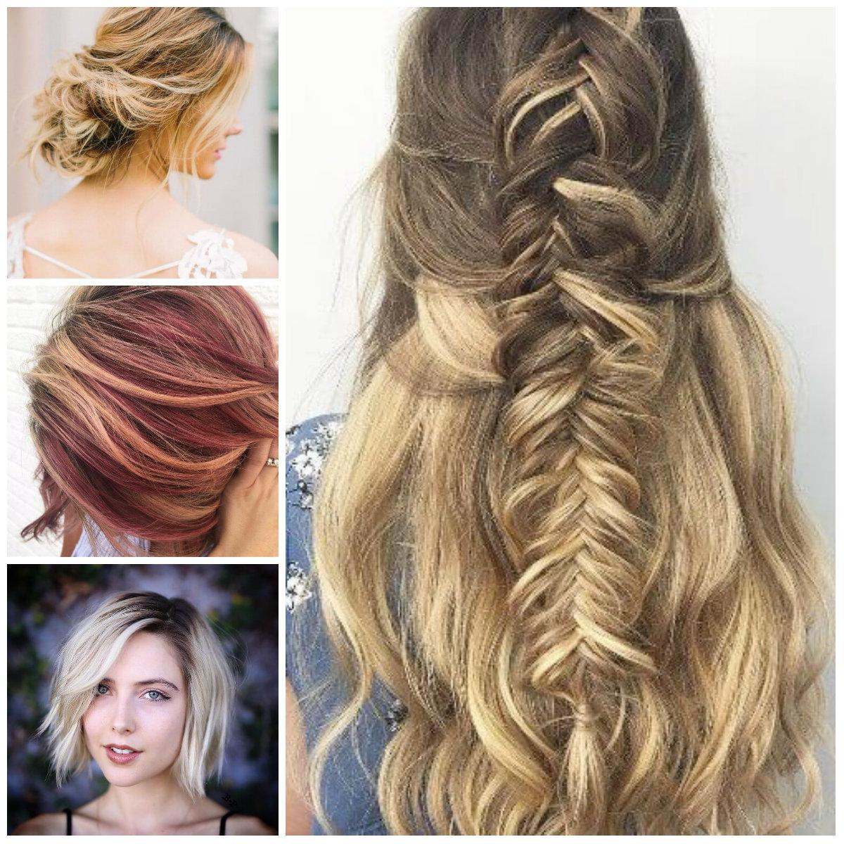 Schmutzige blonde Haarfarben für 2018