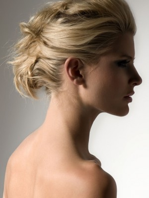 Neu Summer Messy Up-Do Frisur