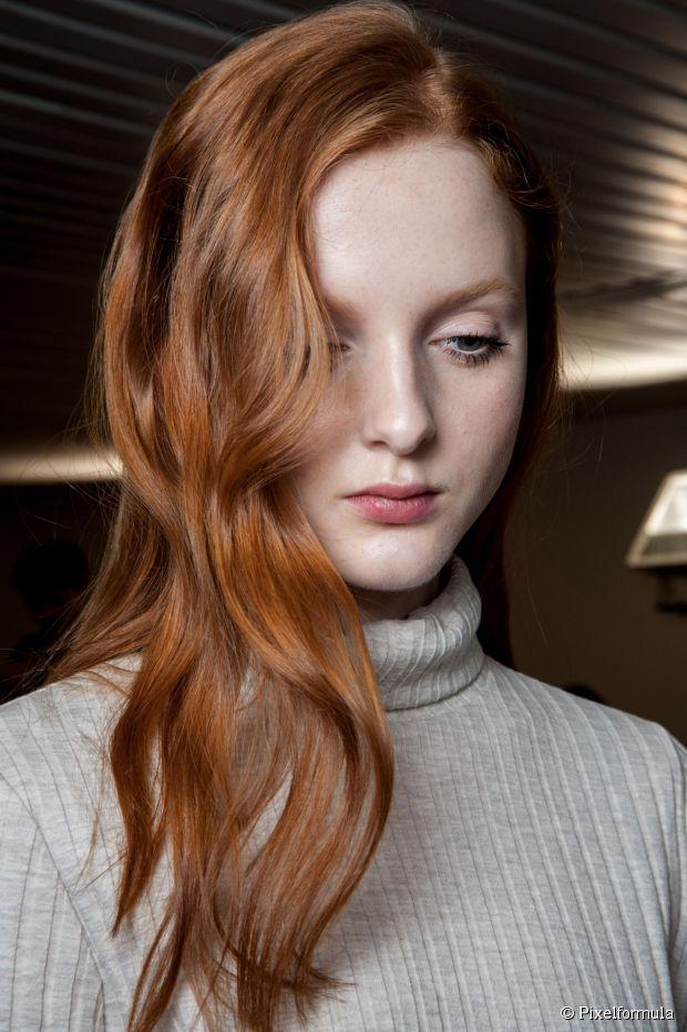 5 lange strukturierte Frisuren für eine Nacht