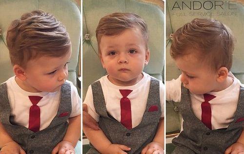 20 Сute Baby Boy Frisuren