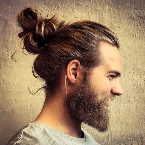 50 stattliche lange Frisuren für Männer zum Sport mit Würde