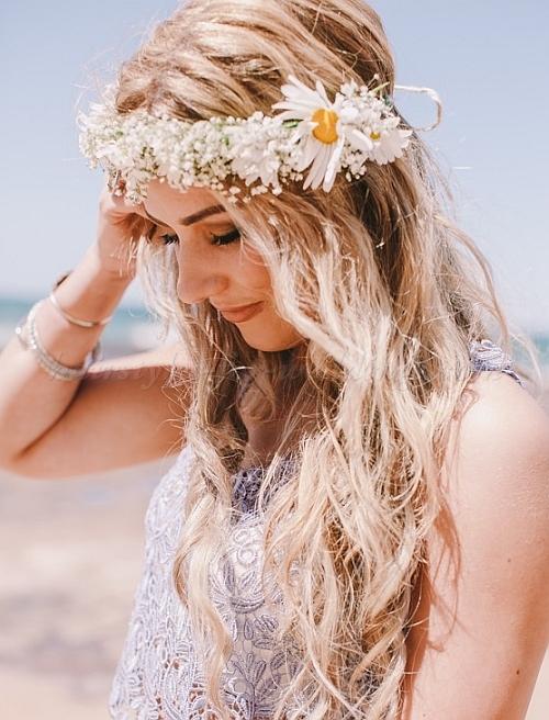 25 trendige und schöne Strandhochzeitsfrisuren