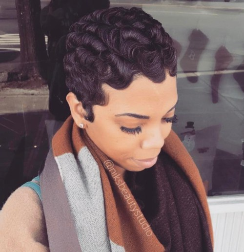 13 Easy Finger Waves Frisuren, die Sie kopieren möchten