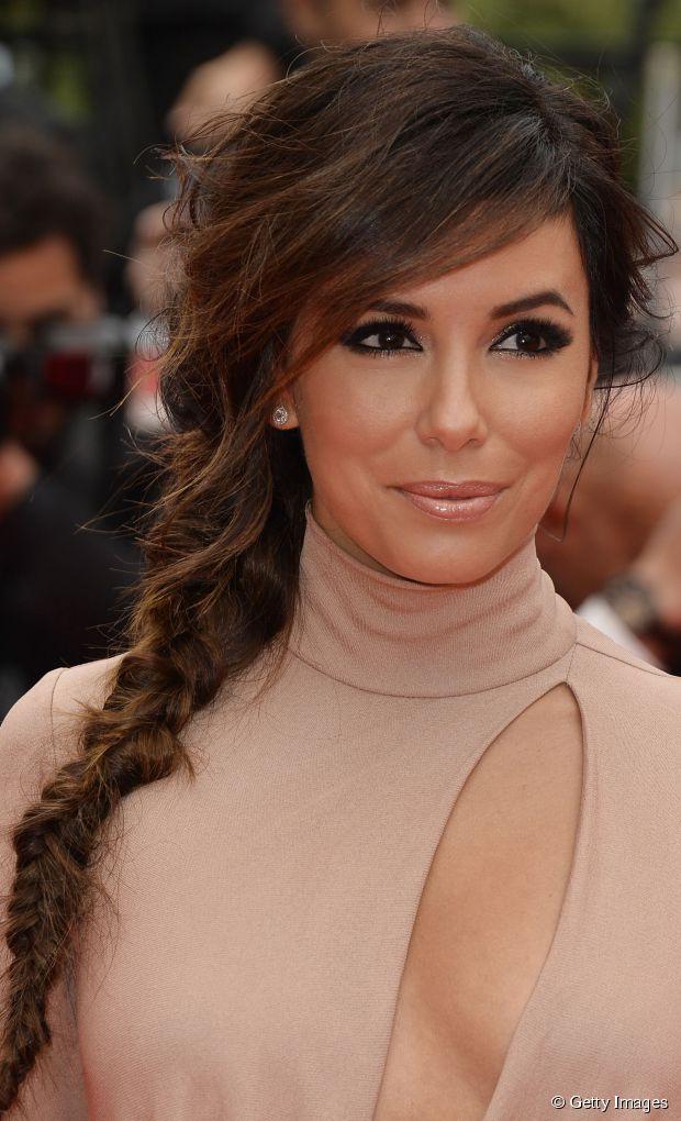 Eva Longoria Hairspiration: 3 Sommerzöpfe zu kopieren