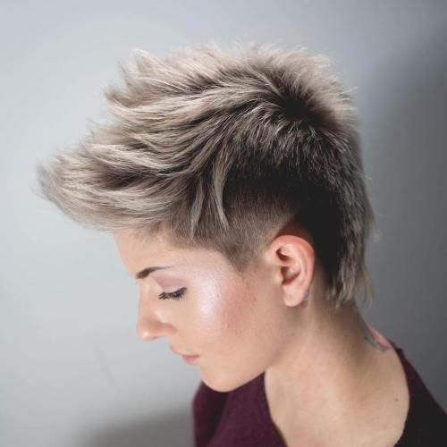 40 mutige und schöne kurze stachelige Haarschnitte für Frauen