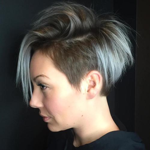 20 inspirierende Pixie Undercut Frisuren