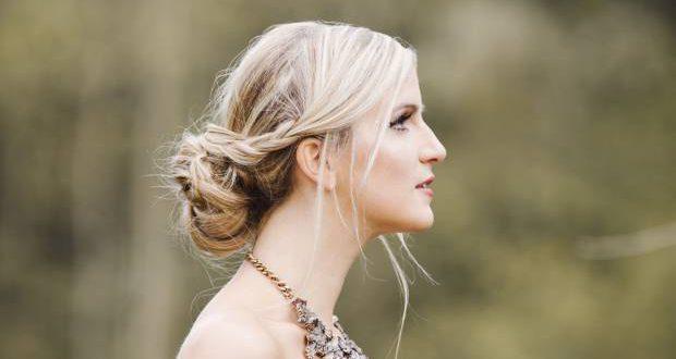 Hochzeit Frisuren: romantische Braut Hochsteckfrisur