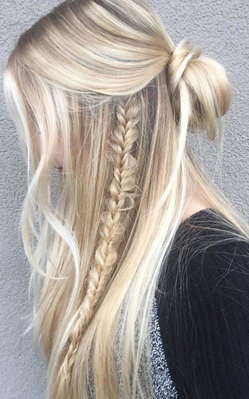 Neue Wege zum Styling Half Up Half Down Frisuren