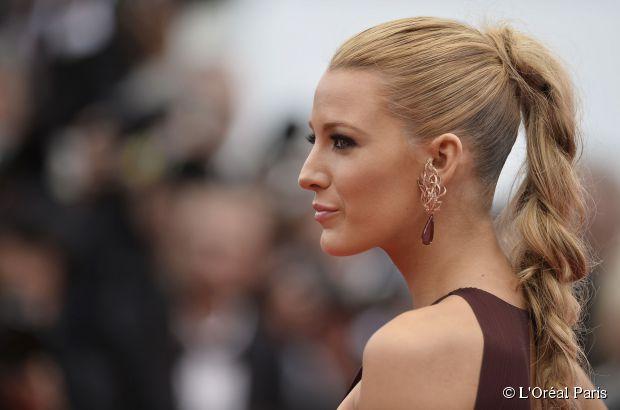 Blake Lively in Cannes Neu: Anleitung für geflochtene Haare