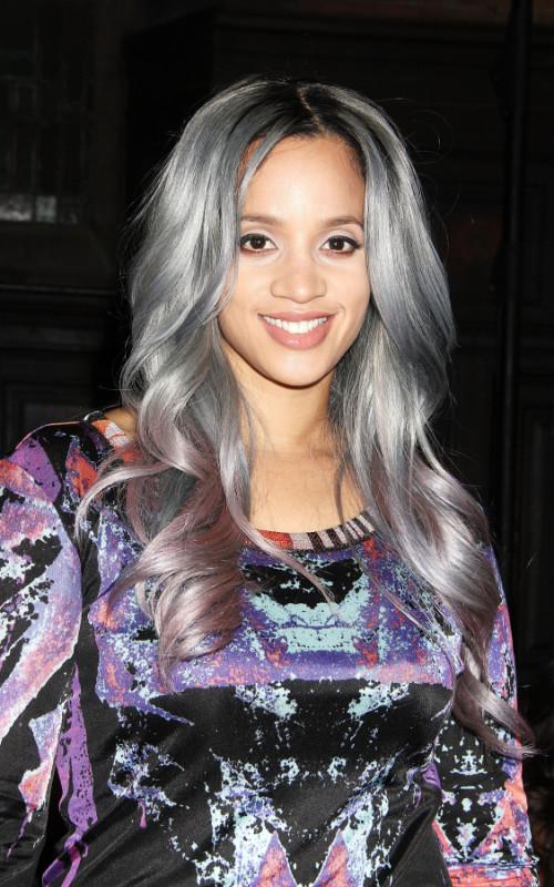 Subtile Silber Haarfarbe Trend für Neu