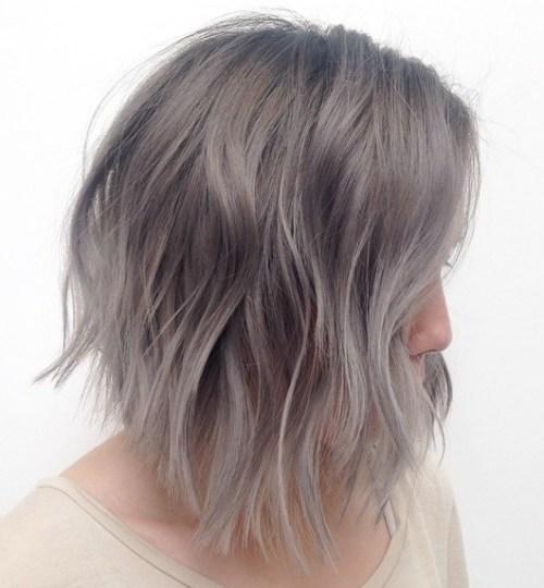 37 nette mittlere Haarschnitte, um Ihre Fantasie anzuheizen