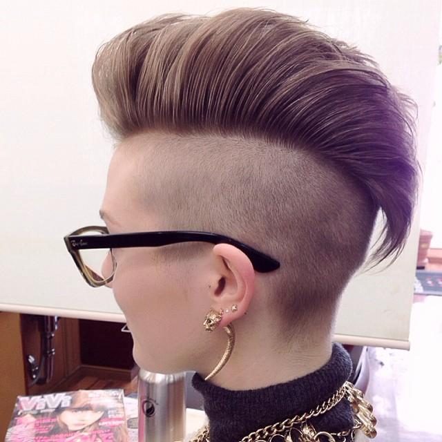 Undercut Frisuren für Frauen