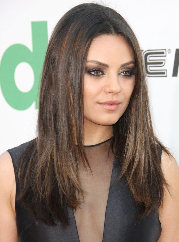 30 lange Frisuren für runde Gesichter - bleib ruhig und style dein Haar