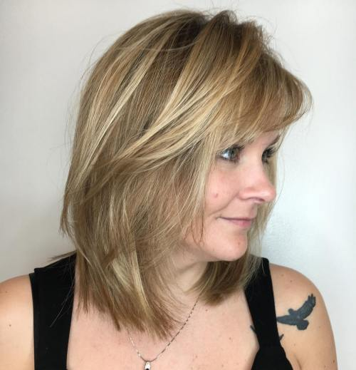 80 besten modernen Haarschnitte und Frisuren für Frauen über 50