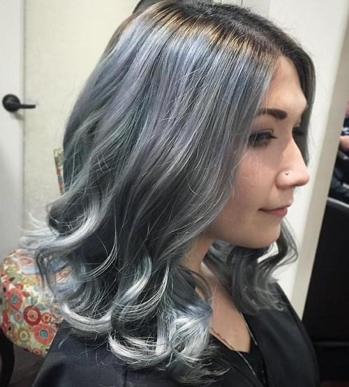 20 Schattierungen des grauen Haartrends