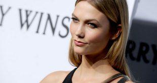 Mittellange Frisuren: Karlie Kloss 'Mittelteil