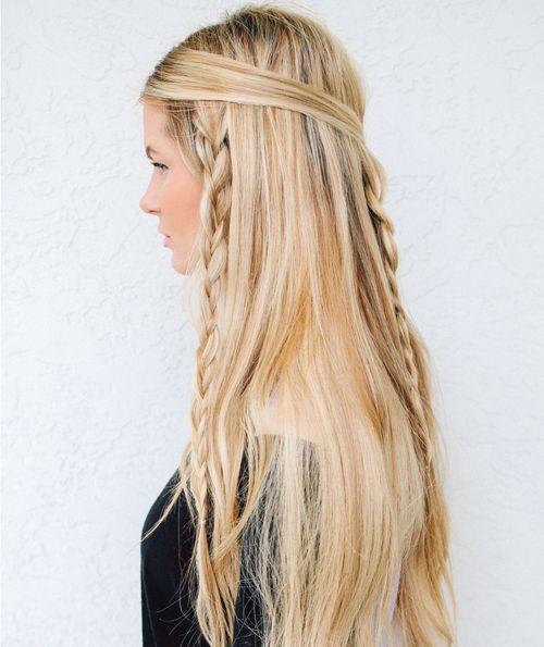38 schnell und einfach geflochtene Frisuren