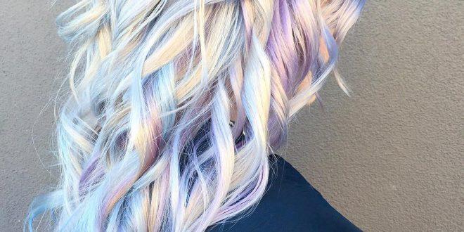 6 Sommer bunte Haar-Ideen für gewagte Mädchen