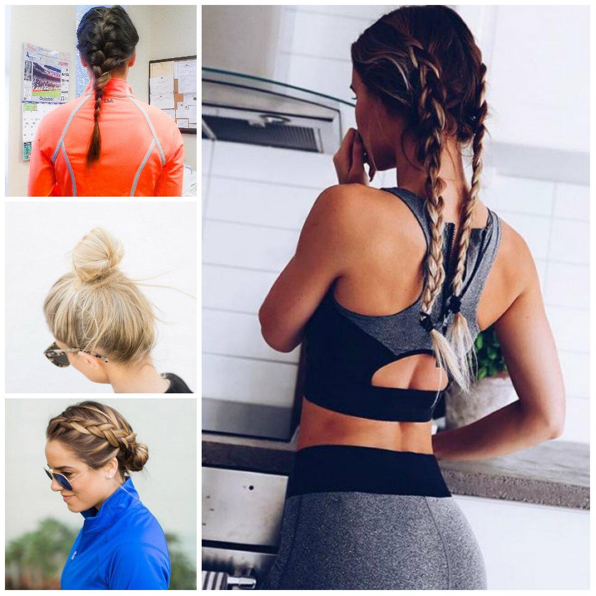 Workout Frisur Ideen für Beste Frisur