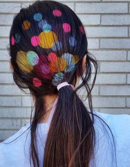 Malerisches Haar für den Sommer Neu