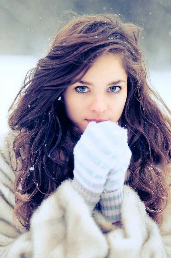 16 Winter Frisuren für Frauen heiß aussehen