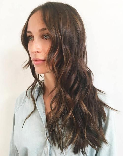 40 lange Frisuren und Haarschnitte für feines Haar
