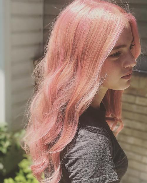 Millennial Pink Hair ist der beliebteste Trend der Tumblr