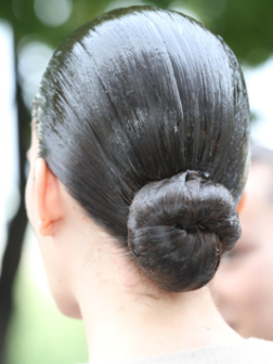 Neue Frisuren von Couture Fashion Week; 2013 Herbst