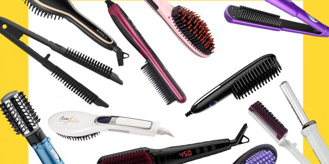 12 Best Hair Straightening Brush Models That Actually Work