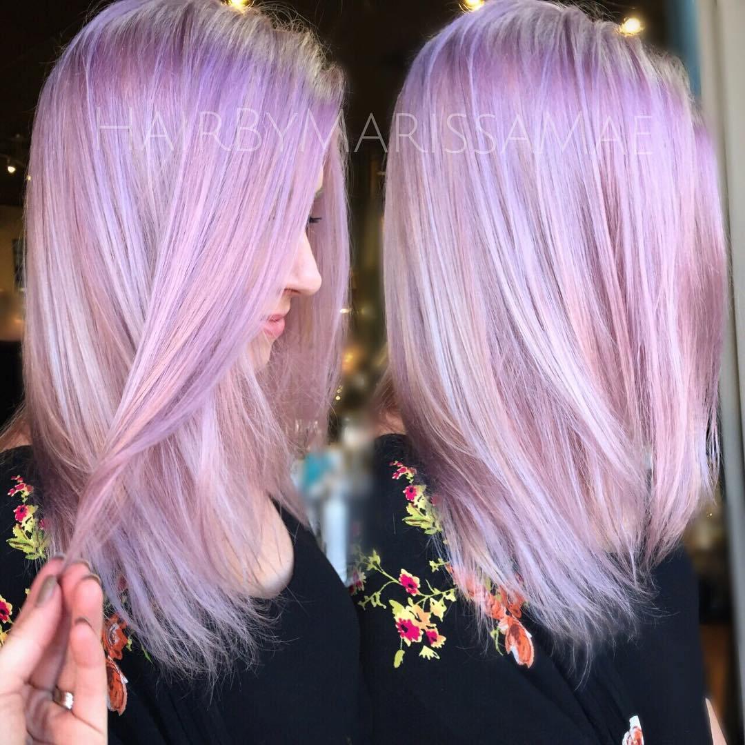 20 Ohnmächtige lila Frisuren