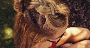 45 hübsche Ideen für legere und formale Brötchen-Frisuren