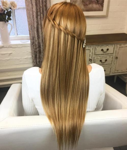 40 fließende Wasserfall Braid Styles