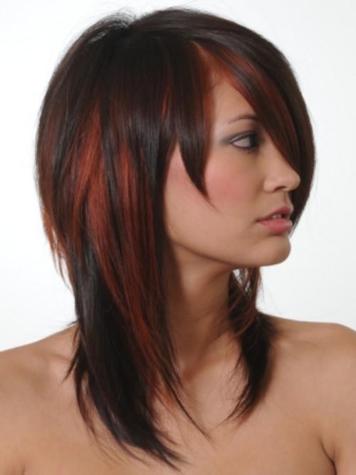 Schwarze Frisuren mit Trendigen Highlights Neu