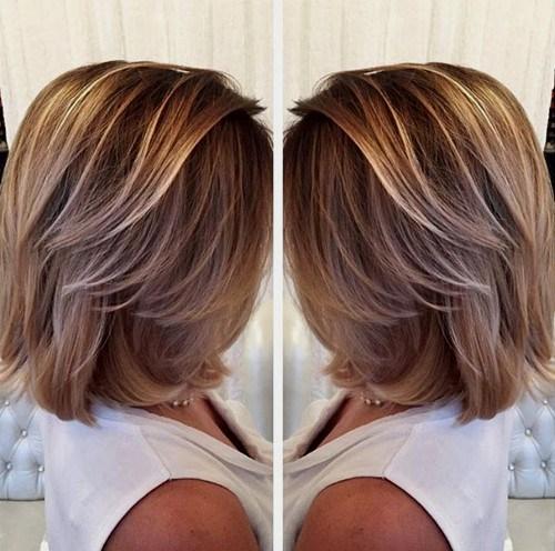 40 Trendy Balayage Kurzes Haar sieht aus
